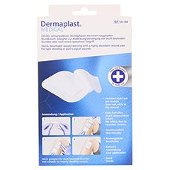 DERMAPLAST MEDICAL leicht blutende Wunde 9x15 cm 5 Stück - Rückseite