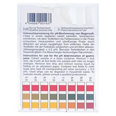 PH-FIX Indikatorstäbchen pH 2,0-9,0 100 Stück - Rückseite