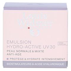 WIDMER Tagesemulsion Hydro-Active UV30 unparfümiert 50 Milliliter - Rückseite