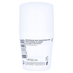 Vichy Deo Anti-Transpirant Roll-on Sensitiv 48h 50 Milliliter - Rückseite
