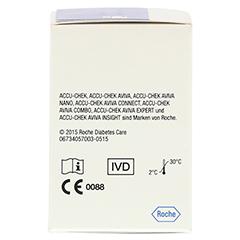 ACCU-CHEK Aviva Teststreifen Plasma II 50 Stück - Rückseite