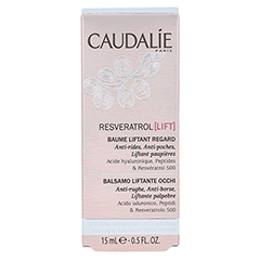 CAUDALIE Resveratrol Lift Lifting Augenbalsam 15 Milliliter - Rückseite
