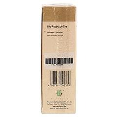 ROTBUSCH Tee natur Bio Filterbeutel 25 Stück - Unterseite