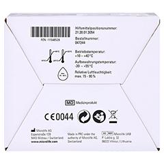 APONORM Blutdruckmessgerät Mobil Slim Handgelenk 1 Stück - Unterseite