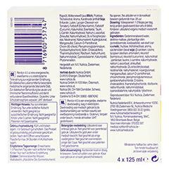 RENILON 4.0 Aprikosengeschmack flüssig 6x4x125 Milliliter - Unterseite