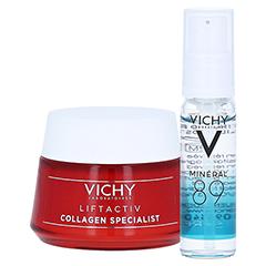 Vichy Liftactiv Collagen Specialist Anti-Age Tagespflege + gratis Vichy Mineral 89 Mini 10 ml 50 Milliliter