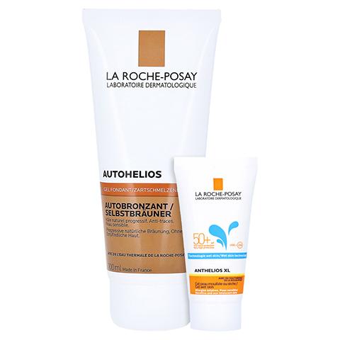 La Roche-Posay Autohelios Selbstbräuner Gel-Creme + gratis La Roche Posay Anth. W Gel LSF 50+ 15ml 100 Milliliter