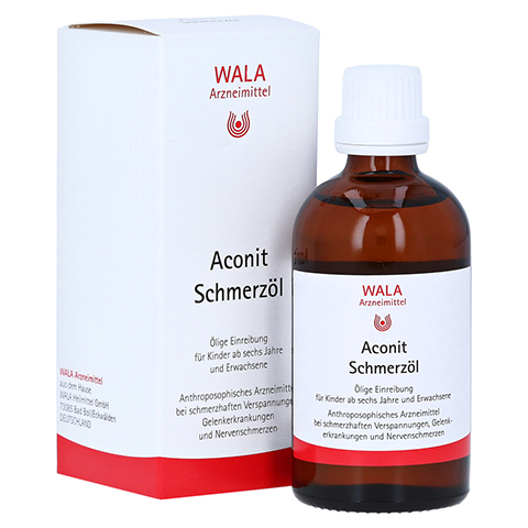 Aconit-Schmerzöl 100 Milliliter N1