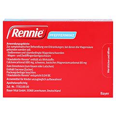 Rennie 36 Stück - Rückseite
