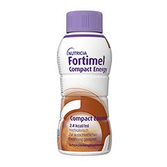 FORTIMEL Compact Energy Schokolade 4x300 Milliliter