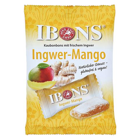IBONS Ingwer Mango Tüte Kaubonbons 92 Gramm