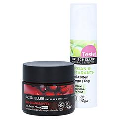 DR.SCHELLER Bio-Granatapfel Anti-Falten Pfl.Nacht + gratis DR.SCHELLER Argan&Amaranth Anti-Falten Pfl.Tag 30 ml 50 Milliliter