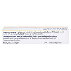 Corneregel EDO Augengel 30x0.6 Milliliter N1 - Oberseite