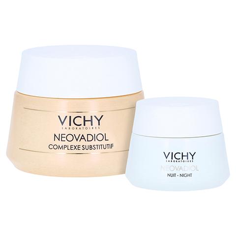 Vichy Neovadiol Tagespflege für normale und Mischhaut + gratis Vichy Neovadiol Ausgleichender Wirkstoffkomplex Nacht 15 ml 50 Milliliter