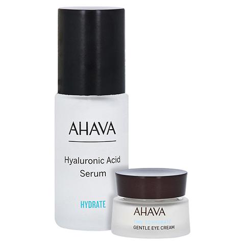 HYALURONIC Acid Serum + gratis AHAVA gentle eye cream 15 ml 30 Milliliter