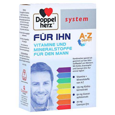 Doppelherz system FÜR IHN Vitamine und Mineralstoffe für den Mann 30 Stück
