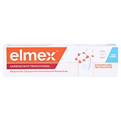 Elmex Kariesschutz Professional Zahnpasta 75 Milliliter - Vorderseite