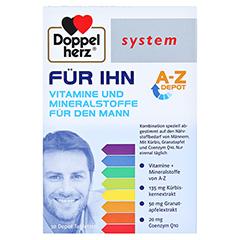 Doppelherz system FÜR IHN Vitamine und Mineralstoffe für den Mann 30 Stück - Vorderseite
