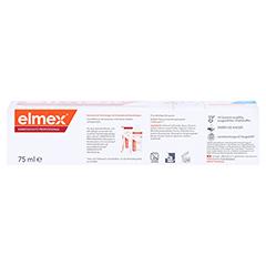 Elmex Kariesschutz Professional Zahnpasta 75 Milliliter - Unterseite