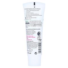 LAVERA Zahncreme Sensitive & Repair m.Fluorid dt 75 Milliliter - Rückseite
