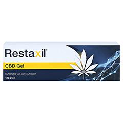 RESTAXIL CBD Gel 120 Gramm - Vorderseite