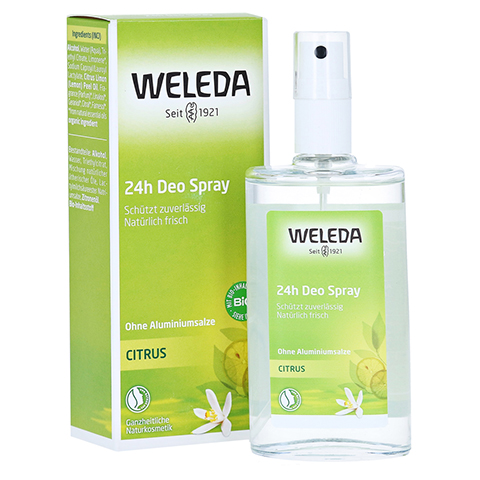 WELEDA Citrus 24h Deo Spray 100 Milliliter