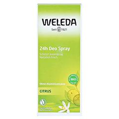 WELEDA Citrus 24h Deo Spray 100 Milliliter - Vorderseite