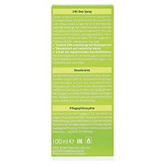 WELEDA Citrus 24h Deo Spray 100 Milliliter - Rückseite
