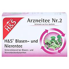H&S Blasen-und Nierentee 20x2.0 Gramm - Vorderseite