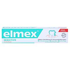 ELMEX SENSITIVE Zahnpasta 75 Milliliter - Vorderseite