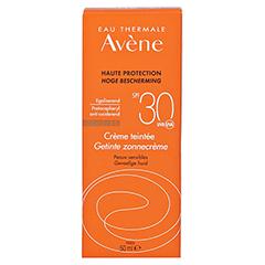 Avène Sunsitive Sonnencreme SPF 30 getönt 50 Milliliter - Rückseite