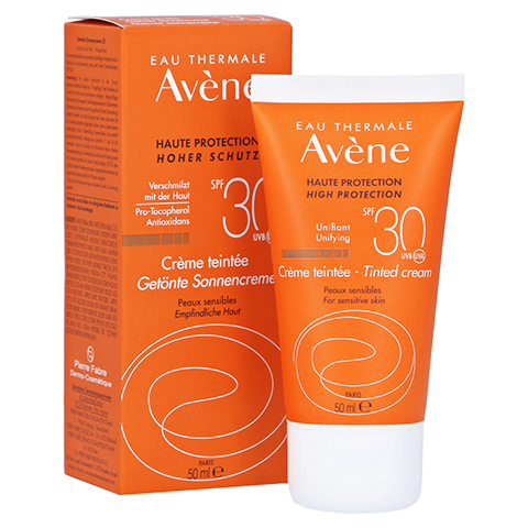 Avène Sunsitive Sonnencreme SPF 30 getönt 50 Milliliter