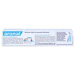 ARONAL Zahnfleischschutz Zahnpasta 75 Milliliter - Rückseite