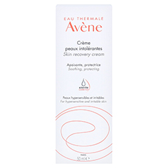 Avène Creme für überempfindliche Haut leicht 50 Milliliter - Rückseite