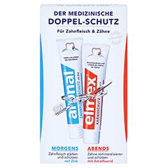 MINI DOPPELSCHUTZ Zahnpasta 2x12 Milliliter - Vorderseite