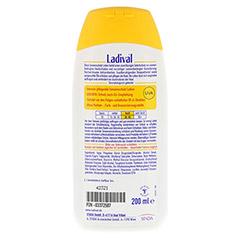 LADIVAL norm.bis empfindl.Haut Lotion LSF 30 200 Milliliter - Rückseite