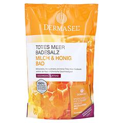DERMASEL Totes Meer Badesalz+Milch&Honig SPA 1 Packung