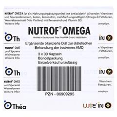 Nutrof Omega Kapseln 3x30 Stück - Unterseite