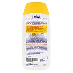 LADIVAL allergische Haut Gel LSF 15 200 Milliliter - Rückseite