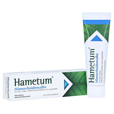 Hametum Hämorrhoidensalbe 50 Gramm