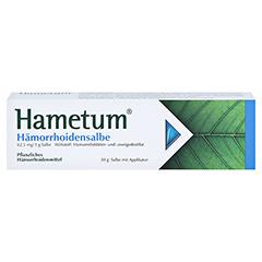 Hametum Hämorrhoidensalbe 50 Gramm - Vorderseite