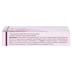 FENIZOLAN Kombi 600 mg Vaginalovulum+2% Creme 1 Packung - Oberseite