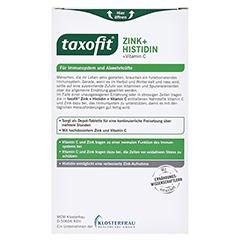 Taxofit Zink+histidin Depot Tabletten 40 Stück - Rückseite