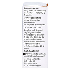 Tyrosur Wundheilpuder 5 Gramm N1 - Rückseite