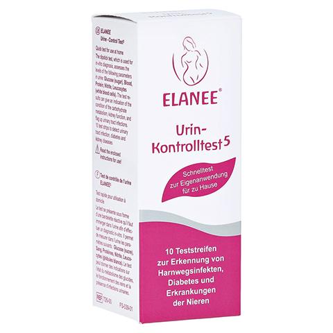 ELANEE Urin-Kontrolltest 5 10 Stück