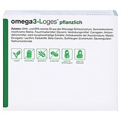 Omega3-loges Pflanzlich Kapseln 120 Stück - Oberseite