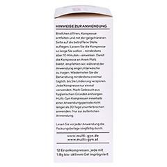 MULTI-GYN Kompressen f.Wohlbefinden im Analbereich 12 Stück - Rechte Seite
