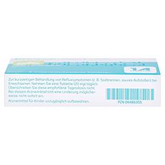 PANTOPRAZOL-1A Pharma 20mg bei Sodbrennen msr.Tab. 7 Stück - Unterseite