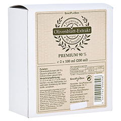 OLIVENBLATT-Extrakt Premium 90% Doppelpack 2x100 Milliliter