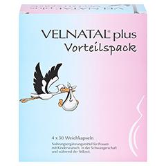 VELNATAL plus Vorteilspack Kapseln 4x30 Stück - Vorderseite